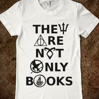 They Are Not Only Books (Fandom) Harry Potter, Hunger Games, Percy Jackson, Divergent, Mortal Instruments