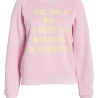 Wildfox Fiona Beaches & Sunsets Sweatshirt | Nordstrom