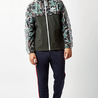 adidas Camouflage Rev Windbreaker at PacSun.com