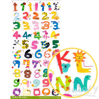 Adorable Animal Shaped Alphabet Typography Stickers for Kids and Aduts | Cute DIY Scrapbook Card Making Supplies