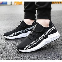 Off White New fashion letter print sports leisure shoes