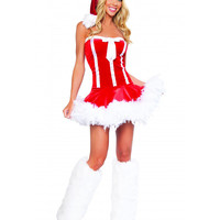 Sassy Miss Santa Costume-Sexy Christmas Costumes