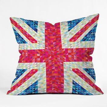 Fimbis Britain Outdoor Throw Pillow