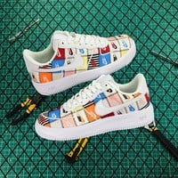 Nike Air Force 1 Af1 Low Flyknit Patchwork 2.0 - Best Online Sale