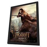 The Hobbit: The Desolation of Smaug 27x40 Framed Movie Poster (2013)
