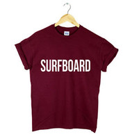 SURFBOARD TSHIRT BEYONCE TOP YONCE DRUNK IN LOVE ALBUM FLAWLESS WOMENS NEW