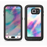 The Tie Dyed Bright Texture Full Body Samsung Galaxy S6 LifeProof Fre Case Skin Kit