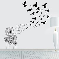 Decorative Wall Stickers - Animal Wall Stickers Animals / Floral / Botanical Living Room / Bedroom / Bathroom