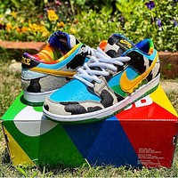 NIKE SB Zoom Dunk Low low-top classic fashion skateboard sneakers Colorful shoes