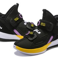 LeBron Soldier 13 XIII EP - Black/Yellow/Purple