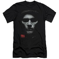 Sons Of Anarchy - Skull Face Premuim Canvas Adult Slim Fit 30/1