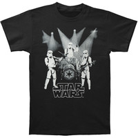 Star Wars Men's  Group Of Troopers T-shirt Black