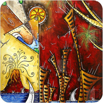 DENY Designs Home Accessories | Madart Inc. A Slice Of Paradise Wall Art Sale Item