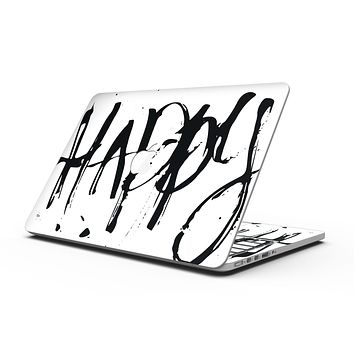 Happy Splatter - MacBook Pro with Retina Display Full-Coverage Skin Kit