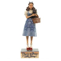 Jim Shore THERES NO PLACE LIKE HOME Polyresin Dorothy Toto Ruby Slippers 4045415