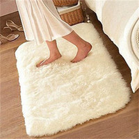 1pcs Super Comfortable Shaggy Fluffy Carpet Rugs Anti-Skid Area Rug Dining Room Carpet Home Bedroom Floor Mat New Arrival