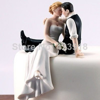 2014 The Look of Love Bride and Groom Couple Figurine wedding cake decoration cake topper
