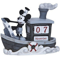 Mickey Mouse Perpetual Calendar - Precious Moments