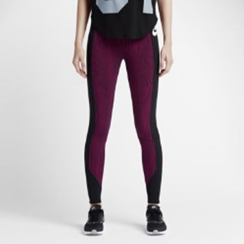 Nike RU Fly Women's Leggings Size Small (Purple)