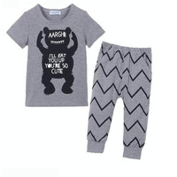Autumn baby boy clothing,baby boy coming home outfit,Animal printed shirt legging 2pcs outfit ,baby clothes