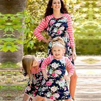 Mommy and me Floral Outfits
