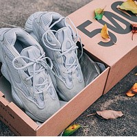 Adidas Yeezy 500 fashion hot sale couple running sneakers