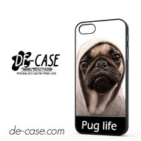 New Design Funny Hilarious Pug Life Parody Fans For Iphone 5 Iphone 5S Case Phone Case Gift Present