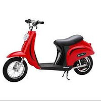 Red Razor Pocket Mod Moped Electric Motorized Scooter For Kids