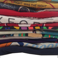 SOFT Vintage T-Shirt Mystery Style 70s, 80s, 90s