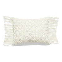 Nordstrom at Home Macramé Accent Pillow | Nordstrom