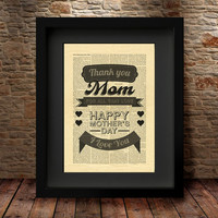 Gift for mom, mothers day gift, Wall Art Poster, Mothers day, mothers day print, Poster, Mom wall art, New Mom Gift, Wall Art Poster- 41