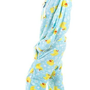 Forever Lazy Unisex Non-footed Adult Onesuit One-Piece Pajama Jumpsuit