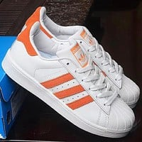 Adidas Superstar Shell New Fashion Women Men Running Sports Leisure Shoes