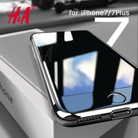 H&A Slim Phone Case for Apple iPhone 7 7 Plus Luxury TPU Silicone Soft Back Cover Case for iPhone 6 7 5 5s SE 6s Plus Cases