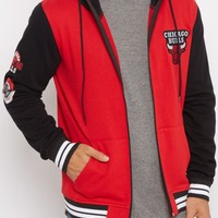 Chicago Bulls Color Block Zip Up Hoodie | NBA Sweatshirts & Hoodies | rue21