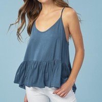 Spring Peplum Camisole (Multiple Colors Available)