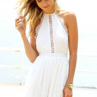 Wind Lace Playsuit | SABO SKIRT