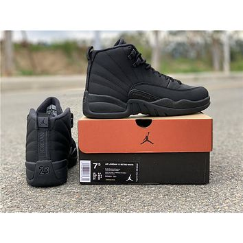 "Air Jordan 12 Retro ""Winterized"" Basketball Shoes 36-47"