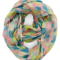 David & Young 'Abstract Ikat' Infinity Scarf (Juniors) (Online Only)
