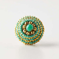 Anthropologie - Beaded Gandar Knob
