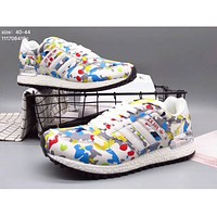 Adidas zx500 popcorn at the end of light sports men's running shoes F-XYXY-FTQ White + printing