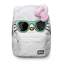 Hello Kitty Mint Sunglasses/Pink Bow Face Backpack