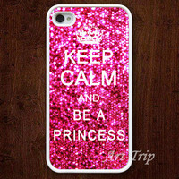 iPhone 4 Case iphone 4s case  Keep Calm and be a by ArtTrip