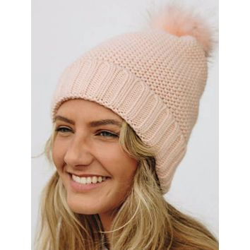No Bad Days Beanie | Pink