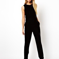 ASOS Jumpsuit in Velvet