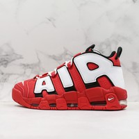 Nike Air More Uptempo Qs Ps University Red Sneakers