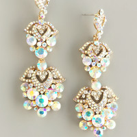 Dazzling Aurora Crystals Earrings