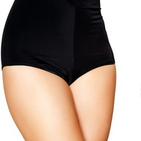 Adult Women Tight High Waisted Spandex Shorts Clubwear Dancewear