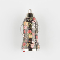 Dark Vintage Floral Print Usb Car Charger Black Combo One Size For Women 25207514901