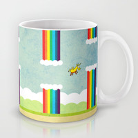Flappy Unicorn Mug by That's So Unicorny